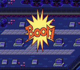 Earthbound - Cut-Scene  - BOOM!!! - User Screenshot